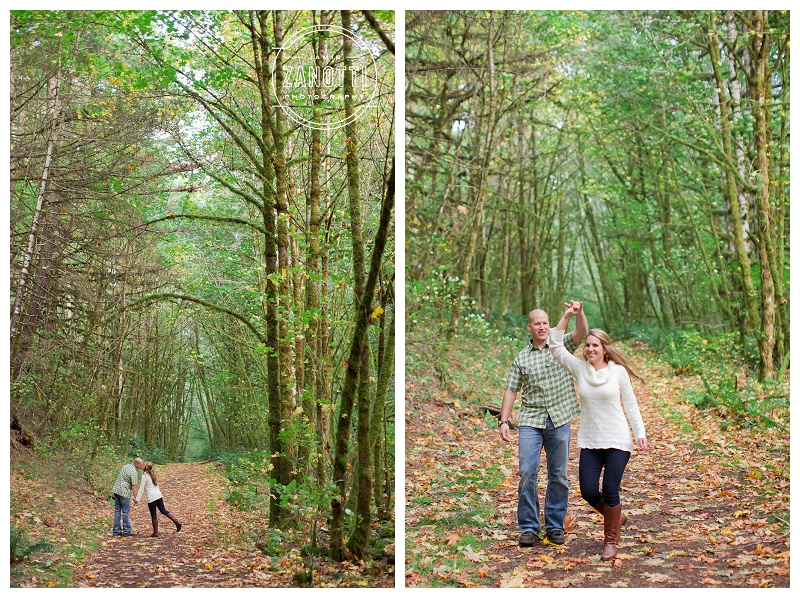 beazell memorial forest engagement amanda paul
